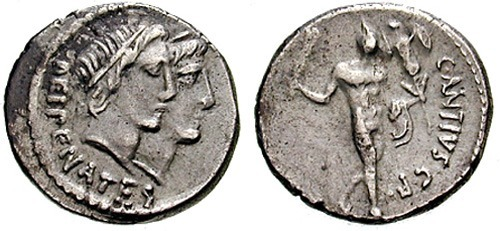 antia roman coin denarius
