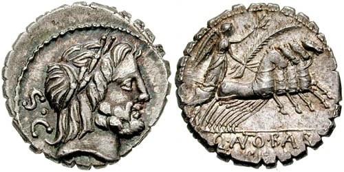 antonia roman coin denarius