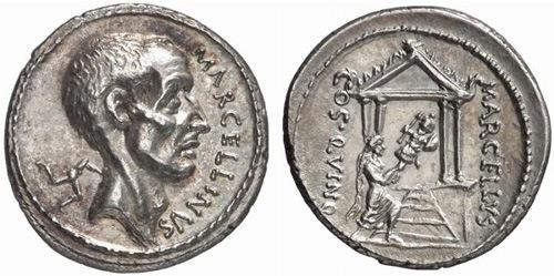 claudia roman coin denarius