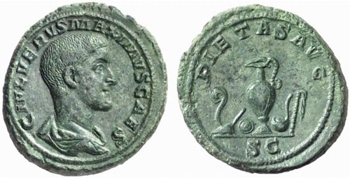 maximus roman coin as