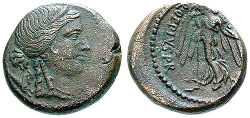 oppia roman coin as
