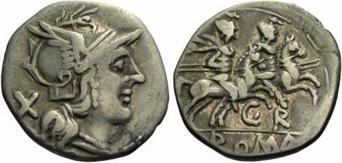 sempronia roman coin denarius