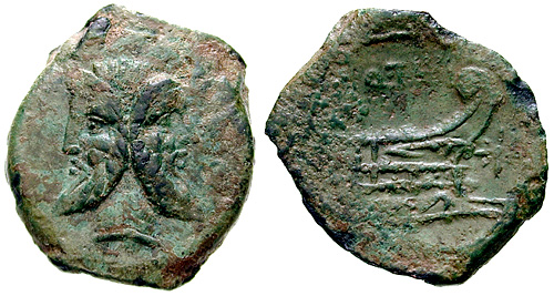 titia roman coin as