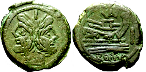 valeria roman coin as